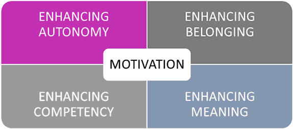 Chelsea and Westminster NHS Hospital NHS Foundation Trust Performance and Development Review (PDR) process - MOTIVATION - ENHANCING AUTONOMY, ENHANCING BELONGING, ENHANCING COMPETENCY, ENHANCING MEANING